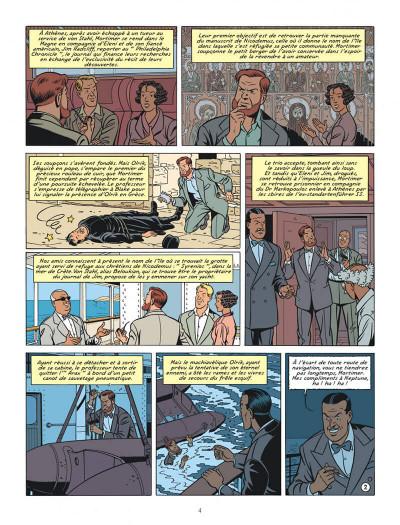 Page 4 Blake et Mortimer tome 20