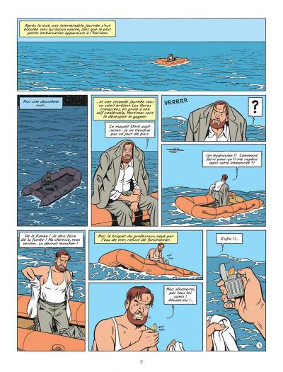 Page 5 Blake et Mortimer tome 20