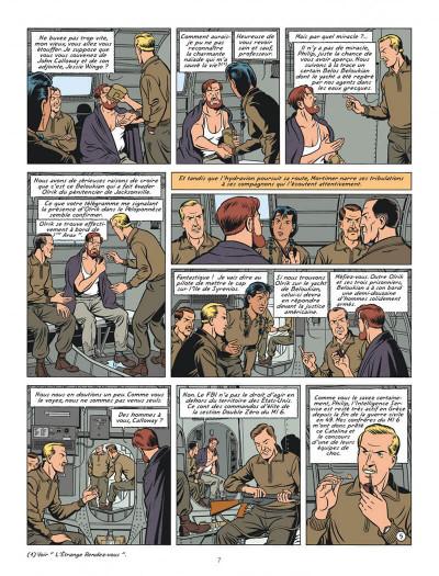 Page 7 Blake et Mortimer tome 20