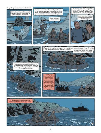 Page 9 Blake et Mortimer tome 20