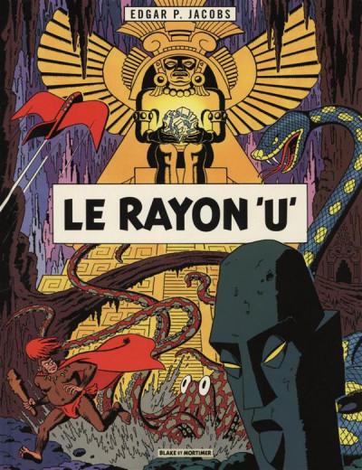 Couverture Blake et Mortimer tome 0 - le rayon u (éd. 2013)