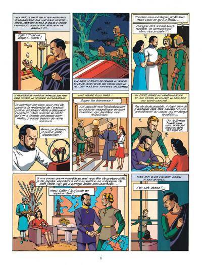 Page 6 Blake et Mortimer tome 0 - le rayon u (éd. 2013)