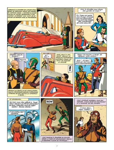 Page 7 Blake et Mortimer tome 0 - le rayon u (éd. 2013)