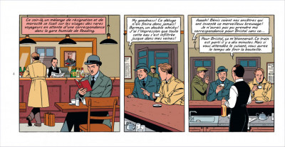 Page 3 Blake & Mortimer tome 21 - édition spéciale