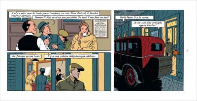 Page 4 Blake & Mortimer tome 21 - édition spéciale