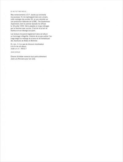 Page 3 Blake et mortimer tome 22 - L'onde Septimus
