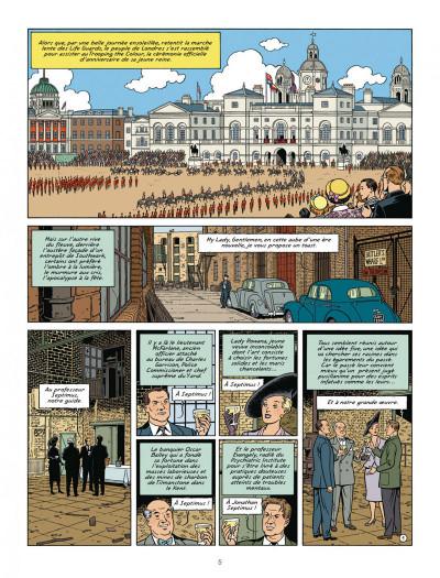 Page 4 Blake et mortimer tome 22 - L'onde Septimus