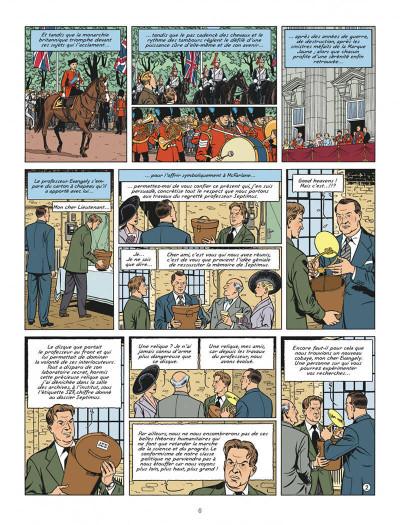 Page 6 Blake et mortimer tome 22 - L'onde Septimus