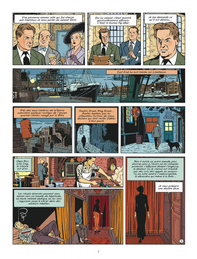 Page 7 Blake et mortimer tome 22 - L'onde Septimus