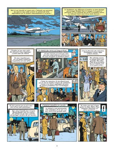 Page 9 Blake et mortimer tome 22 - L'onde Septimus