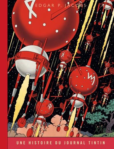 Couverture Blake et Mortimer tome 7 - l'enigme de l'atlantide (version journal Tintin)