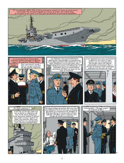 Page 3 Blake et Mortimer tome 23 - Le bâton de Plutarque