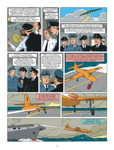 Page 5 Blake Et Mortimer T.23 - Le Bâton De Plutarque