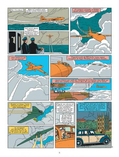 Page 6 Blake Et Mortimer T.23 - Le Bâton De Plutarque