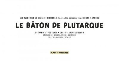 Page 3 Blake et Mortimer tome 23 - le bâton de Plutarque (version strips)