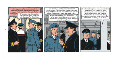 Page 6 Blake et Mortimer tome 23 - le bâton de Plutarque (version strips)
