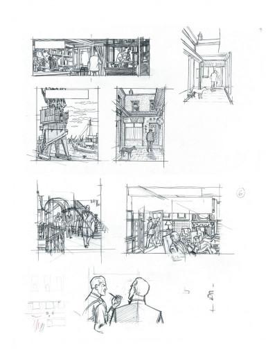 Page 4 Tirage de tête Blake et Mortimer tome 22 - l'onde Septimus