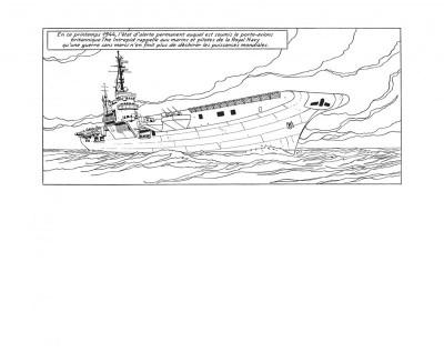 Page 4 Blake et Mortimer - tirage de tête tome 23