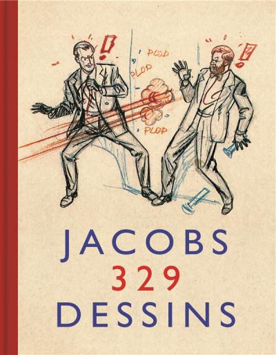 Couverture autour de Blake & Mortimer tome 6 - Jacobs 329 dessins