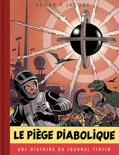 Couverture Blake et Mortimer tome 9 - version journal tintin