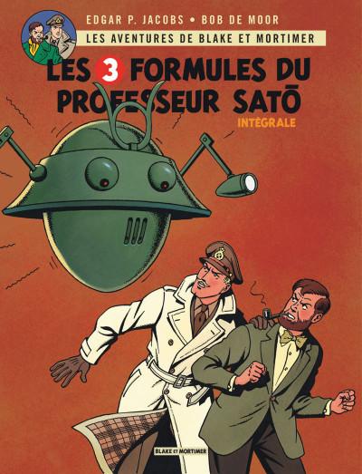 Couverture Blake & Mortimer intégrale - Les 3 formules du professeur Satô