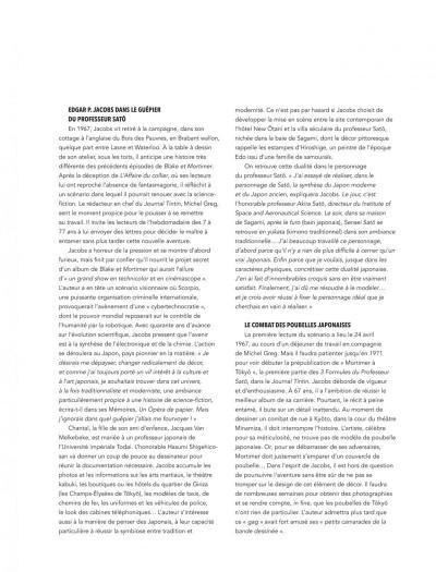 Page 3 Blake & Mortimer intégrale - Les 3 formules du professeur Satô