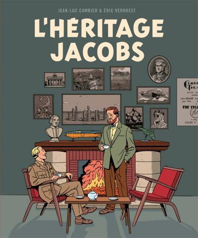 Couverture L'héritage Jacobs