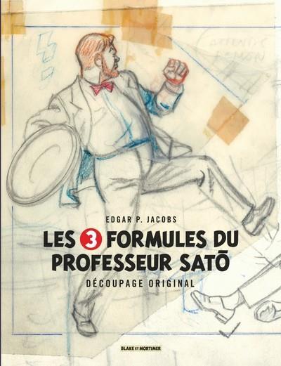 Couverture Les 3 formules du professeur Satô - Le découpage