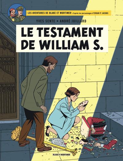 Couverture Blake et Mortimer tome 24 - Le testament de William S.