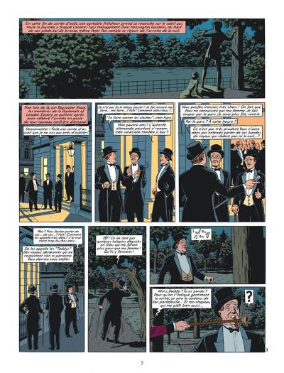 Page 3 Blake et Mortimer tome 24 - Le testament de William S.