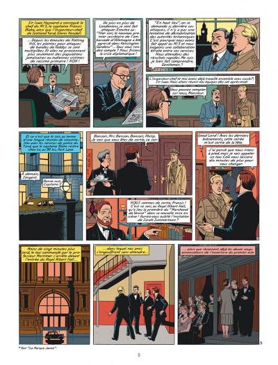 Page 5 Blake et Mortimer tome 24 - Le testament de William S.