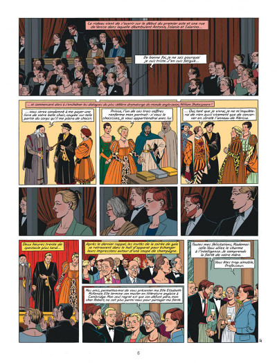 Page 6 Blake et Mortimer tome 24 - Le testament de William S.