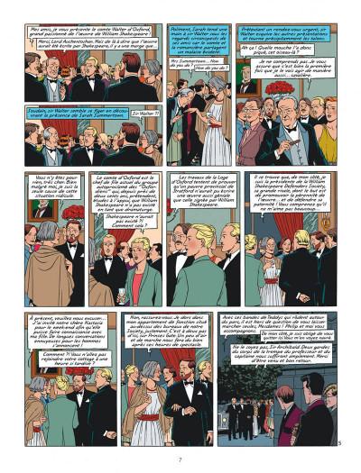 Page 7 Blake et Mortimer tome 24 - Le testament de William S.