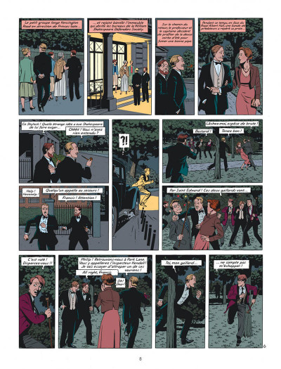 Page 8 Blake et Mortimer tome 24 - Le testament de William S.