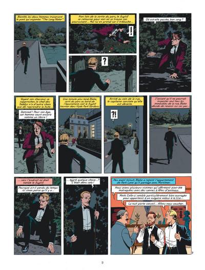 Page 9 Blake et Mortimer tome 24 - Le testament de William S.