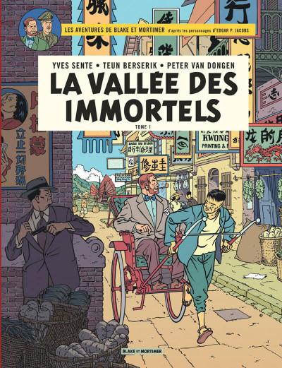 Couverture Blake et Mortimer tome 25 - La vallée des immortels I