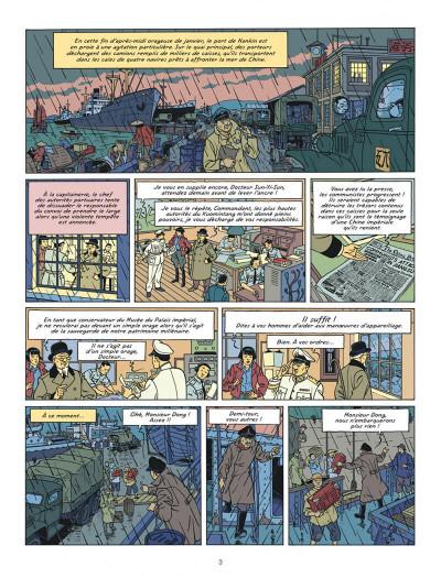 Page 3 Blake et Mortimer tome 25 - La vallée des immortels I
