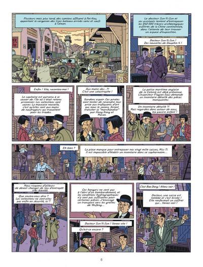 Page 6 Blake et Mortimer tome 25 - La vallée des immortels I
