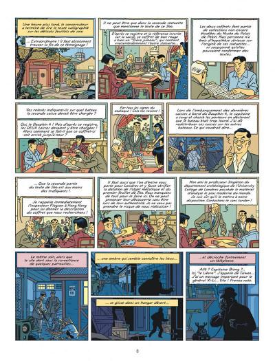 Page 8 Blake et Mortimer tome 25 - La vallée des immortels I