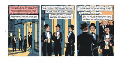 Page 6 Blake et Mortimer - version strips tome 24 - Le testament de William S.