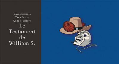 Couverture Blake et Mortimer - édition de luxe tome 24 - Le testament de William S.