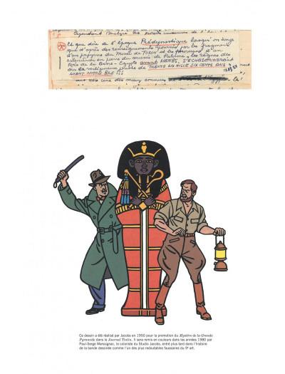 Page 4 Blake et Mortimer tome 4 - Le mystère de la grande pyramide I (version journal Tintin)