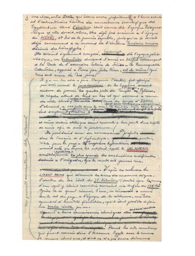 Page 5 Blake et Mortimer tome 4 - Le mystère de la grande pyramide I (version journal Tintin)