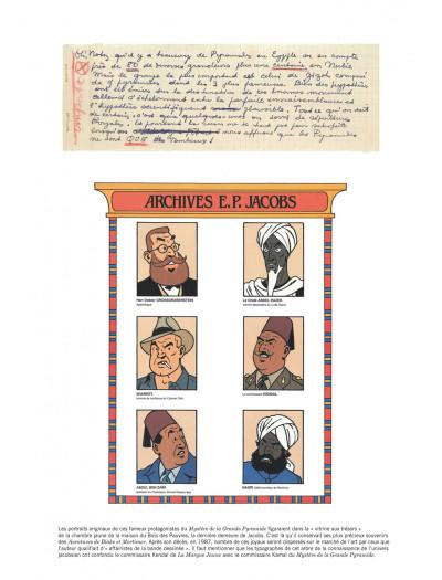Page 7 Blake et Mortimer tome 4 - Le mystère de la grande pyramide I (version journal Tintin)