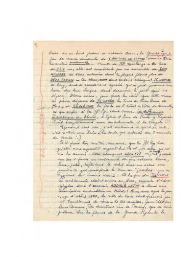 Page 8 Blake et Mortimer tome 4 - Le mystère de la grande pyramide I (version journal Tintin)