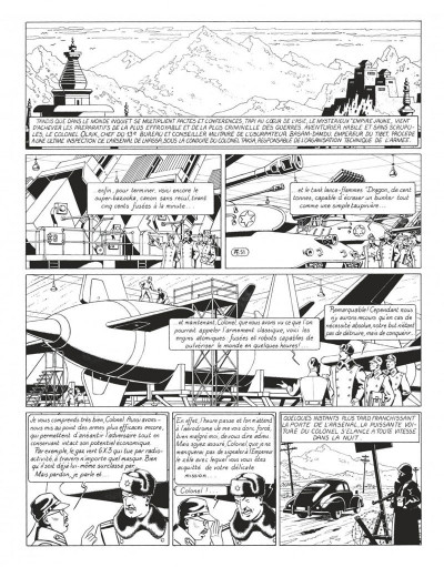Page 7 Blake et Mortimer - intégrale tome 1