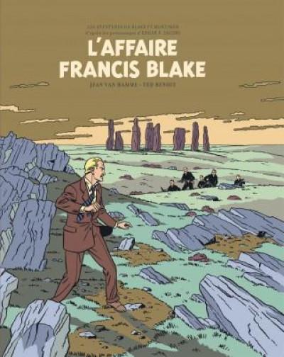 Couverture Blake et Mortimer - édition bibliophile tome 13 - L'affaire Francis Blake