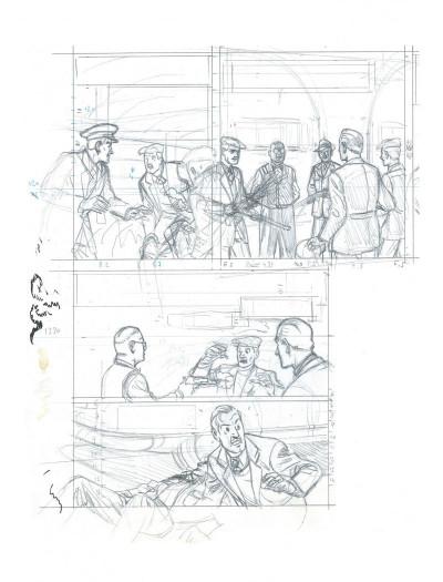 Page 3 Blake et Mortimer - édition bibliophile tome 13 - L'affaire Francis Blake
