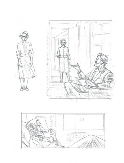 Page 7 Blake et Mortimer - édition bibliophile tome 13 - L'affaire Francis Blake