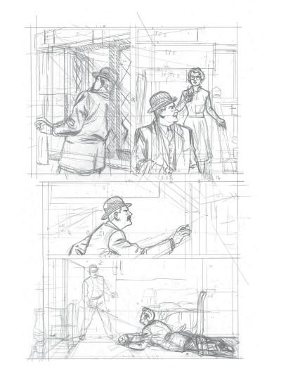 Page 8 Blake et Mortimer - édition bibliophile tome 13 - L'affaire Francis Blake